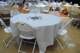 108 tablecloth on 60 table tables chairs linens fun and game party