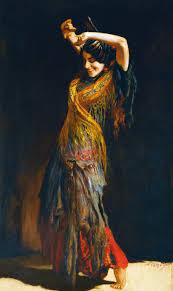 file léopold schmutzler the flamenco dancer jpg wikimedia commons
