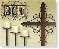 metal home decorating accents wrought iron accessories