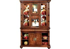 dark wood china cabinet corner china cabinet home key west tobacco 2 china cabinet corner