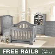 Davenport Convertible Crib Baby Appleseed Davenport Convertible Crib In Moon Gray Free Shipping