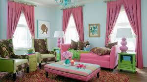 Pretty In Pink Living Room Designs Home Design Lover - Pink living room design