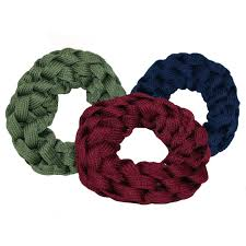 hair scrunchie set of 3 scrunchieswinter color shoe lace hair tie woven