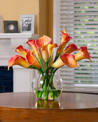 decorate with striking designer silk flower centerpieces at