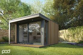 Backyard Office Building There Is A Wealth Of Prefabricated Buildings To Ease The Pain Of