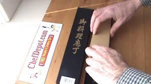 Tamahagane Kitchen Knives Kyoto Knife Youtube