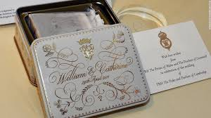 wedding cake kate middleton royal family auction a of cake from wililam and kate s