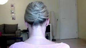 Hochsteckfrisurenen Zum Nachmachen Kurze Haare by Einfache Und Schnelle Hochsteckfrisur Für Kurze Haare