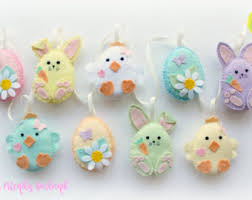 Easter Bunnies For Decorations by Easter Decorations Etsy