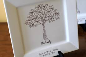 wedding gift parents family tree platterbride and groom wedding gift for parents