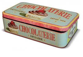 boite metal cuisine boîte métal pour tablette de chocolat cupcake natives 22913