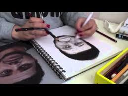 the weeknd abel tesfaye speed drawing youtube