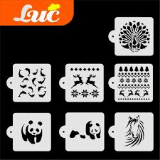 popular large animal stencil buy cheap large animal stencil lots