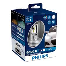 x treme ultinon led car headlight bulb 12953bwx2 philips