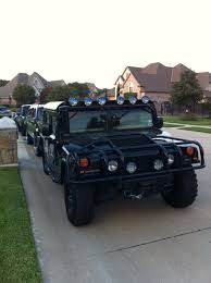 diesel brothers hummer custom h1 slant back hummer black supercharged the cars
