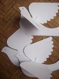 bird like for paper each bird is cut from doubled cardstock