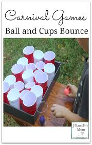 carnival games ball and cups bounce this fun game is part of a