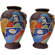Antique Ceramic Vases Vintage By Type Porcelain U0026 Pottery Satsuma On Ruby Lane
