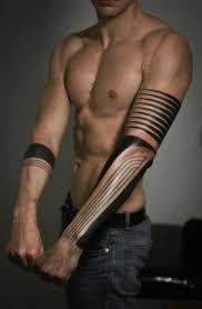 full arm art tattoos tribal design idea for men and women