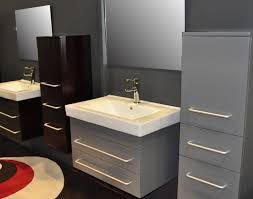 Bathroom Furniture Store Bathroom Costly Metal Cabinet Colored In Grey With Modern