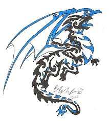tattoo dragon water dragon tribal tattoo commission by xxcelestialdragonxx on deviantart
