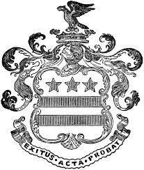 Family Crest Flags Washington Family Coat Of Arms Clipart Etc