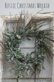 rustic christmas rustic christmas wreath and hop clean and scentsible