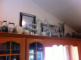 Top Of Kitchen Cabinet Decorating Ideas Home Decor Above Cabinet Decorating Ideas Double Kitchen Sink