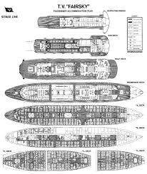 sitmar lines ss fairsky deck plan during her final days