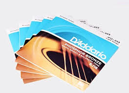 d addario ej16 phosphor bronze light acoustic guitar strings d addario ej16 3d phosphor bronze acoustic guitar strings light 3