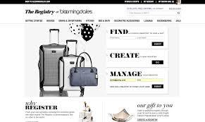 bloomingdale bridal gift registry best wedding registry websites top10weddingsites top