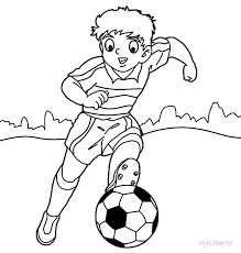 printable football player coloring pages kids cool2bkids