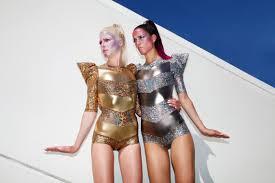 Ziggy Stardust Halloween Costume Ziggy Bodysuit Silver David Bowie Costume Burning Man