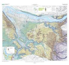 Oregon Topographic Map by Estimated Depth To Ground Water And Configuration Of The Water