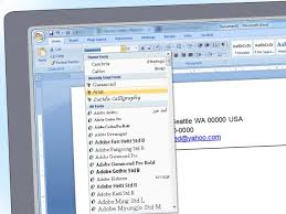 simple cv format in ms word how to create printable booklets in microsoft word 2007 2010