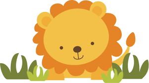 baby lion clipart 10505 clipartion