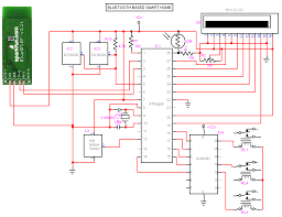 7 1 home theater circuit diagram bluetooth based smart home circuit diagram electronic circuits