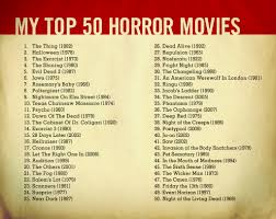 the top 50 horror movies i did this list of scary movies a u2026 flickr