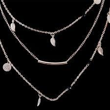 new trendy necklace images New fashion layered necklace women ladies trendy jewelry multi jpg