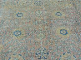 Turquoise Persian Rug Buy Antiquetabriz Persian Rug Tabriz Authentic Tabriz Handmade Rug