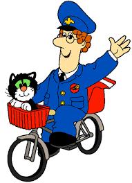postman pat coloring clip art library