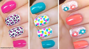 Home Design For Beginners by Cool Easy Nail Design Photo 1 Simple Awesome Nail Designs Art