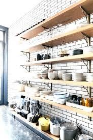 open shelving in kitchen ideas floating shelves in kitchen ideas best floating shelves kitchen