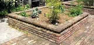 brick raised garden bed u2013 exhort me