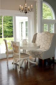 Dining Room Wingback Chairs Charming Dining Rooms Wing Chair Breakfast Room Wingback Settee