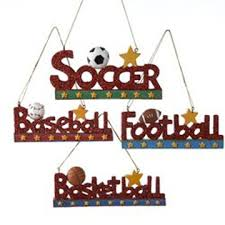 ornament glitter sports assorted home page