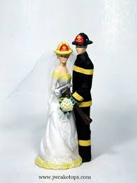 firefighter cake toppers wedding cake wedding cakes firefighter wedding cake toppers