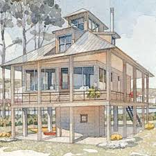 coastal living cottage home plans