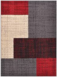 Modern Abstract Area Rugs Conur Collection Squares Geometric Abstract Area Rug Rugs Modern