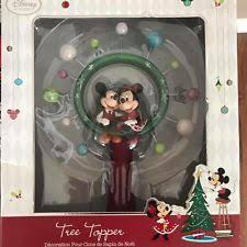 disney mickey minnie mouse tree topper ebay